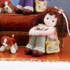 """""""Best Friend"""" Musical Doll - Brunette   Sundays Child Sundays Child, Green Trees, Musicals, Best Friends, Teddy Bear, Homemade, Dolls, Children, Porcelain"""