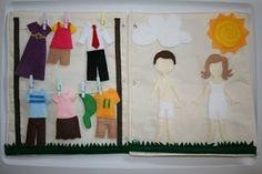 diy quiet book | Spy Bag Tutorial and DIY Quiet Book TodaysMama Kids