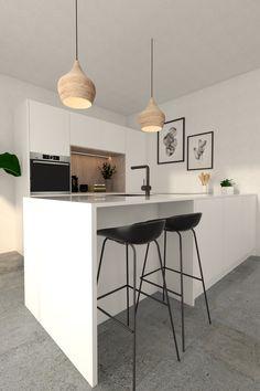 Home Kitchens, Interior, Mirror Ideas, Table, Furniture, House Ideas, Design, Home Decor, Blog