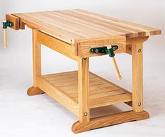 hardwoods for making woodworking workbench