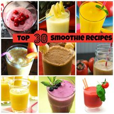 If Smoothies are your kind of drink, bookmark this link for sure. We have put together our Top 30 Smoothies for you. #Smoothie #Healthy