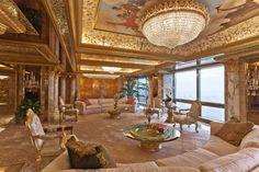 inside donald trump's house | Inside Donald and Melania Trump's Manhattan Apartment Mansion ...