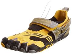 Men's Vibram FiveFingers Komodosport-46--Yellow/Black/Silver $109.95