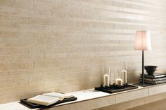 Love the mix of textures!  Atlas Concorde SUNROCK   #tile