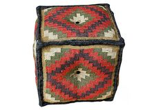 Waverly Kilim Pouf on OneKingsLane.com