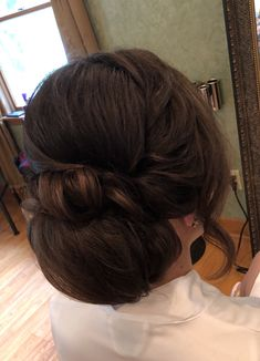 Bridal bun, wedding hairstyle, wedding bun, bridal updo, wedding updo, low bun