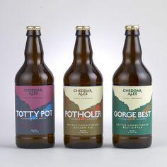 Studio Output™ / Cheddar Ales branding #Packaging
