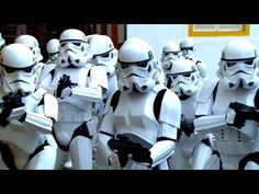 "Stormtrooper ""STAR WARS"" — Face Painting Tutorial — Аквагрим ""Звездные Войны"" - YouTube"