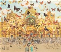 Peter Blake The Butterfly Man in Venice