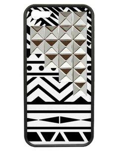 Wildflower aztec geometric designed phone case