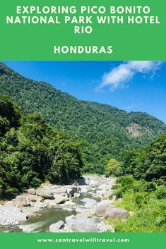 There are lots of great outdoor adventure activities to do in Pico Bonito National Park, Honduras. Heres some of the best things you can do with Hotel Rio. #PicoBonitoNationalParkHonduras #PicoBonitoHonduras #OutdoorAdventureActivitiesHonduras #VisitHonduras #VisitPicoBonitoNationalPark #CanTravelWillTravel