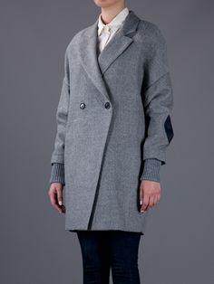 BOY. BY BAND OF OUTSIDERS  DOUBLE BREASTED COAT