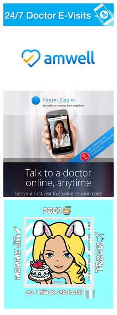 TALK TO A DOCTOR ONLINE, ANYTIME USING AMWELL! First Visit FREE With Code At Bottom Of Post :) #MOMSLOVEAMWELL