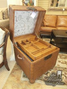 Looks Like A Storage Trunk But Acts Like A Filing Cabinet. Measures 24 X 24  X   Lexington File Cabinet Trunk