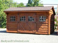 1000 images about storage sheds studios backyard for Cedar ridge storage