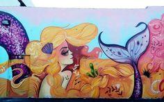 Tati Suarez – New Mural @ Miami, USA (Video)