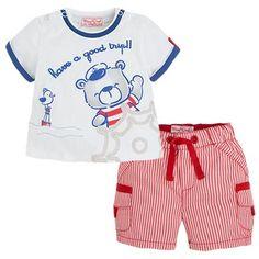 29€ Conjunto de pantalón corto y camiseta Rojos