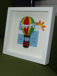 Felt Hot air balloon