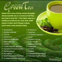 Top 10 Health Benefits of Green Tea - DrJockers.com