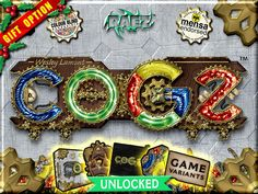 COGZ is an addictive fun strategy board game set in a mad scientist steampunk world. Suitable for kids through to advanced strategists.