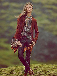 Keep It Rockin' Vegan Leather Cropped Skinny