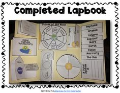 Solar System Lapbook & Foldables {Common Core}