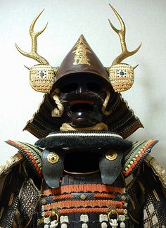 Shogun Armory-providing the finest in antique Samurai Armor Samurai Helmet, Samurai Weapons, Helmet Armor, Samurai Armor, Arm Armor, Japanese Warrior, Japanese Sword, Japanese History, Japanese Culture