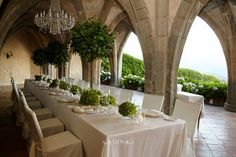 Some of the Italian Weddings we have managed - Louise and Robert - Villa Cimbrone, Amalfi Coast