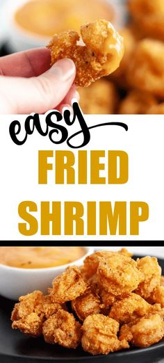 This is such a good batter and is super easy to make! Fried Shrimp Recipe shrimp recipe The BEST Fried Shrimp Recipe - So Easy! Deep Fried Shrimp, Fried Shrimp Recipes, Catfish Recipes, Shrimp Recipes For Dinner, Shrimp Dishes, Seafood Recipes, Cooking Recipes, Grilled Shrimp, Gluten Free Fried Shrimp Recipe