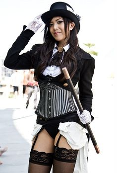 Funny, Sexy, And Awesome Cosplay Of The Week Steampunk Cosplay, Steampunk Book, Zatanna Cosplay, Steampunk Couture, Steampunk Fashion Women, Cybergoth, Best Cosplay, Mode Style, Gothic Lolita