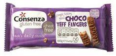 Choco Teff Finger - glutenfrei