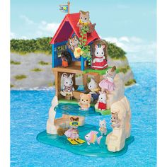 Video review for Calico Critters Secret Island Playhouse showcasing product features and benefits