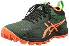 ASICS Men's Gel-Fujirunnagade Running Shoe,Dark Green/Flash Orange/Black,10 M US *** See this great product.