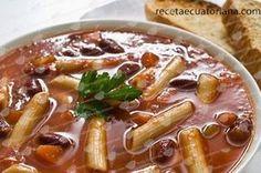 Menestrón   Receta Ecuatoriana Vegan Desserts, Vegan Recipes, Cooking Recipes, Plats Latinos, Vegan Gains, Good Food, Yummy Food, Colombian Food, Comida Latina