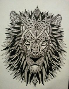 Image result for lion mandala tattoo small