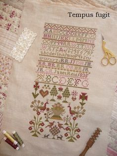 Tempus fugit - Stitching, sewing, quilting (and a little more)