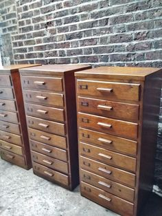 1 X VINTAGE INDUSTRIAL BANK CHEST OF 8 DRAWERS TALLBOY STORAGE FILING CABINET in Home, Furniture & DIY, Furniture, Chests of Drawers   eBay!
