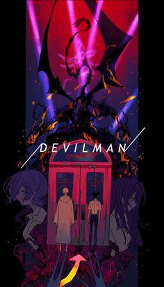 image Devilman Crybaby, Manga Anime, Anime Art, Ken Tokyo Ghoul, 8bit Art, Japon Illustration, Manga Covers, Photo Wall Collage, Anime Scenery