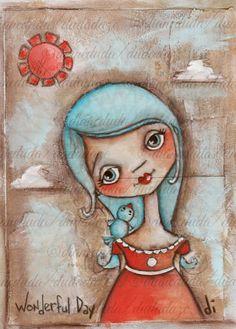 Duda Daze - silly little works of art: Me again already
