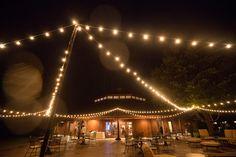 Bistro Lights at the Trump Winery Pavilion Terrace for Marin & Joseph's Wedding on Borrowed & Blue.  Photo Credit: Jack Looney Photography #TrumpWedding #WineryWedding