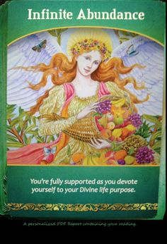Archangel Ariel Prosperity, Wealth and Abundance Oracle Card Reading, Shamanic Journey Channeled message Personalized PDF report