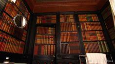 Luxury hotel, The Witchery by the Castle, Edinburgh, United Kingdom - Luxury Dream Hotel with Dummy Books Decor...