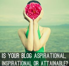 What are you providing your readers? Is your site aspirational, providing them with a beautiful fashion world? Is it inspirational, guiding the way? Or is it attainable, providing how-tos & actions to get them what they want?