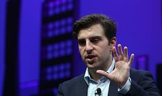 Airbnb co-founder and CEO Brian Chesky, speaking during the Fortune Global forum in San Francisco, C