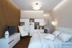 Apartament de 60 mp cu 2 camere în nuanțe de bej-maro - Edifica Design Case, House Design, Interior Design, Modern, Furniture, Home Decor, Nest Design, Trendy Tree, Decoration Home