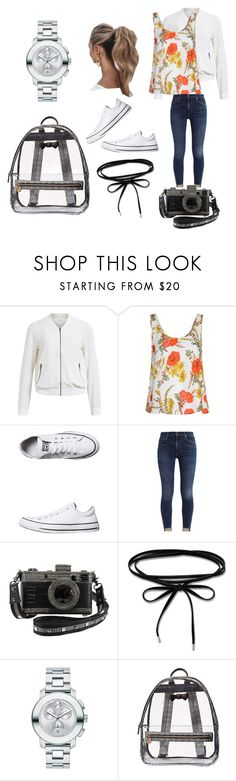 """""""New Hampshire look"""" by princesspeach24 ❤ liked on Polyvore featuring Object Collectors Item, Glamorous, Converse, Love Couture, Thomas Sabo, Movado and Betsey Johnson"""
