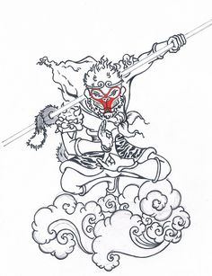 Cool monkey king Tattoo Ideas | Monkey King | Flickr - Photo Sharing!