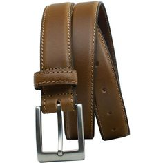 Versatile tan dress belt with compact titanium buckle - terrific look with no change of a nickel allergy rash! Full grain leather strap with stitched edging adds professional edge. Tan Belt, Brown Belt, Dress Belts, Free Silver, Sophisticated Style, Belted Dress, Tan Leather, Allergies, Compact