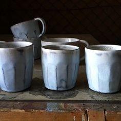 @tinakami #wabisabi #handmade Keramik Tassen Becher