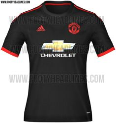 Man Utd 3rd kit 2015 / 16